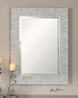 Uttermost Belaya Gray Wood Mirror UT-14551