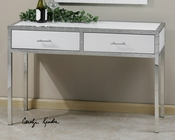 Uttermost Bryton White Console Table UT-24393