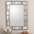 Uttermost Camargo Oxidized Gold Mirror UT-12937