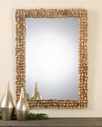 Uttermost Carasco Antiqued Gold Wall Mirror UT-12920