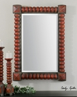 Uttermost Clancy Rust Red Mirror UT-13869