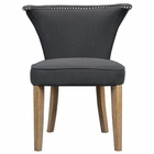 Uttermost Dasen Dark Gray Accent Chair UT-23254