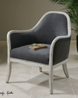 Uttermost Dayla Indigo Accent Chair UT-23181