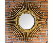 Uttermost Destello Gold Starburst Mirror UT-05032