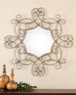 Uttermost Dharma Aged Ivory Mirror UT-08132