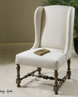 Uttermost Diella Alabaster Wing Chair UT-23185