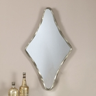 Uttermost Drava Silver Diamond Mirror UT-12928