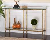 Uttermost Elenio Glass Console Table UT-24421