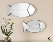 Uttermost Fish Reflections Wall Mirrors UT-08135 (Set of 2)