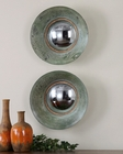Uttermost Forbell Aged Round Mirrors UT-13860 (Set of 2)