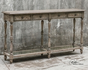 Uttermost Fortuo Weathered Console Table UT-25676