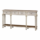 Uttermost Gaultier Aged White Console Table UT-24583