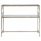 Uttermost Genell Gold Iron Console Table UT-24539