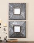 Uttermost Gisila Squares Antiqued Mirrors UT-13886 (Set of 2)