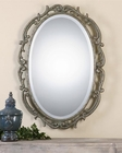 Uttermost Gwendolen Antiqued Silver Oval Mirror UT-08129