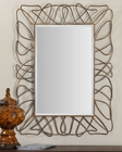 Uttermost Halsey Gold Metal Mirror UT-12878