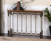 Uttermost Harbin Metal Console Table UT-24405