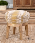 Uttermost Hendrik Fabric Swivel Stool UT-23210
