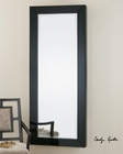 Uttermost Hilarion Black Framed Mirror UT-08128