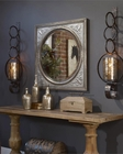 Uttermost Ireneus Burnished Silver Mirror UT-13874
