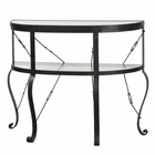 Uttermost Ivyn Rust Bronze Console Table UT-24550