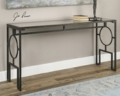 Uttermost Jabrell Mirrored Sofa Table UT-24537