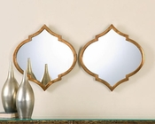 Uttermost Jebel Antique Gold Mirrors UT-12909 (Set of 2)