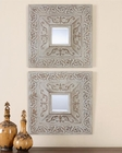 Uttermost Katell Metal Square Mirrors UT-13919 (Set of 2)