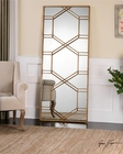 Uttermost Kennis Gold Leaf Leaner Mirror UT-13922