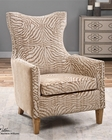 Uttermost Kiango Animal Pattern Armchair UT-23208