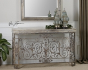 Uttermost Kissara Metal Console Table UT-24347