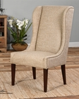 Uttermost Kriston Wingback Armless Chair UT-23214