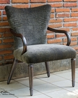 Uttermost Lagan Reptile Pattern Accent Chair UT-23636