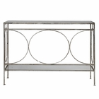 Uttermost Luano Silver Console Table UT-24541