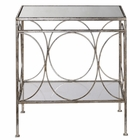 Uttermost Luano Silver End Table UT-24543