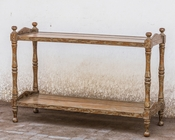 Uttermost Macaire Wooden Sofa Table UT-25597