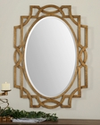 Uttermost Margutta Gold Oval Mirror UT-12869