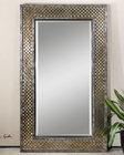 Uttermost Mondego Woven Nickel Mirror UT-07698