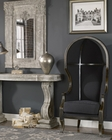 Uttermost Nadira Black Canopy Chair UT-23621