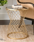 Uttermost Naeva Gold End Table UT-24422