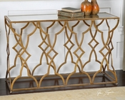 Uttermost Osea Gold Console Table UT-24397