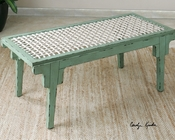 Uttermost Pegaso Wood Bench UT-24509