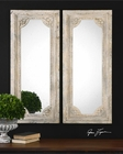 Uttermost Rapallo Aged Ivory Mirrors UT-13889 (Set of 2)