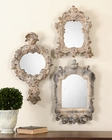 Uttermost Rustic Artifacts Reflection Mirrors UT-13882 (Set of 3)