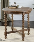 Uttermost Samuelle Wooden End Table UT-24346