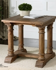 Uttermost Saturia Wooden End Table UT-24341