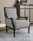 Uttermost Scott Wood Frame Armchair UT-23233