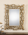 Uttermost Sequoia Gold Tree Branch Mirror UT-08131