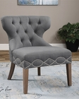 Uttermost Shafira Gray Armless Chair UT-23241
