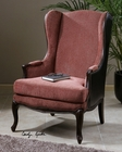 Uttermost Skipton Leather Wing Chair UT-23153